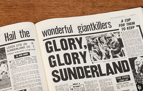 Personalised Sunderland Football Newspaper Book - Personalised Gift Solutions - 4