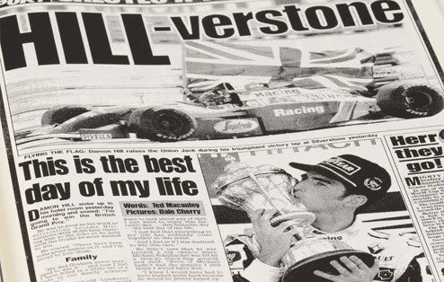 Personalised Formula One Newspaper Book - Personalised Gift Solutions - 4