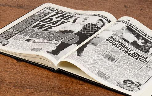 Personalised Ryder Cup Golf Newspaper Book - Personalised Gift Solutions - 6