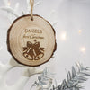Personalised First Christmas Hanging Decoration - Bells - Personalised Gift Solutions - 1