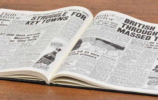 Personalised D – Day Landings Newspaper Book - Personalised Gift Solutions - 4