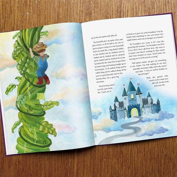 Personalised Book of Fairy Tales - Personalised Gift Solutions - 8
