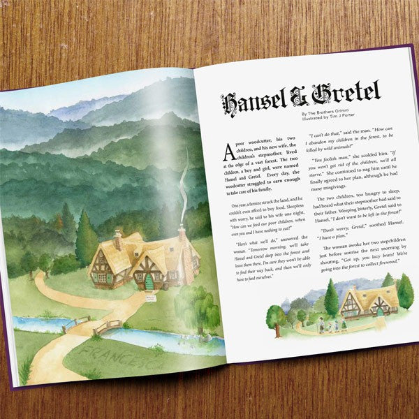 Personalised Book of Fairy Tales - Personalised Gift Solutions - 3