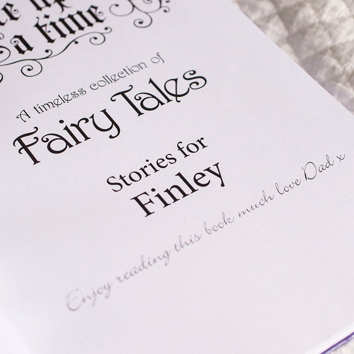 Personalised Book of Fairy Tales - Personalised Gift Solutions - 2