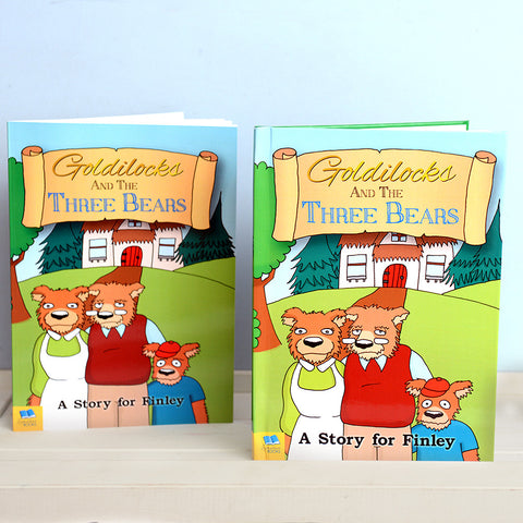 Personalised Goldilocks and Three Bears Book