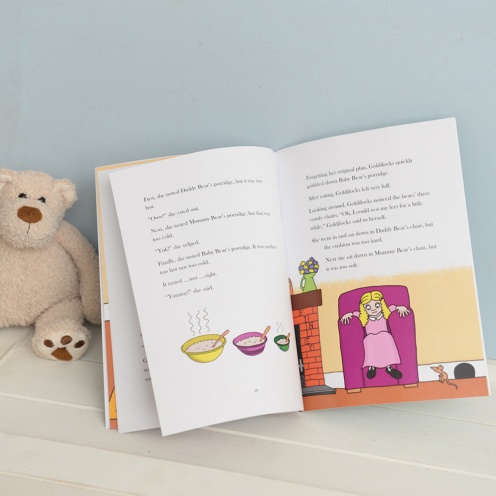 Personalised Goldilocks and Three Bears Book - Personalised Gift Solutions - 4