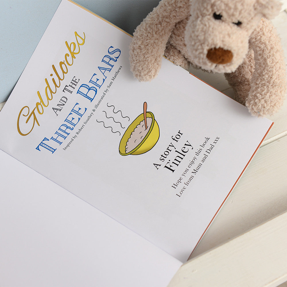 Personalised Goldilocks and Three Bears Book - Personalised Gift Solutions - 5