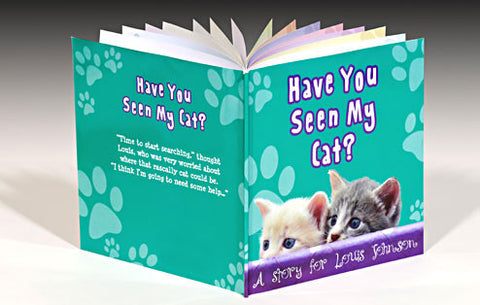 Personalised Have You Seen My Cat Book
