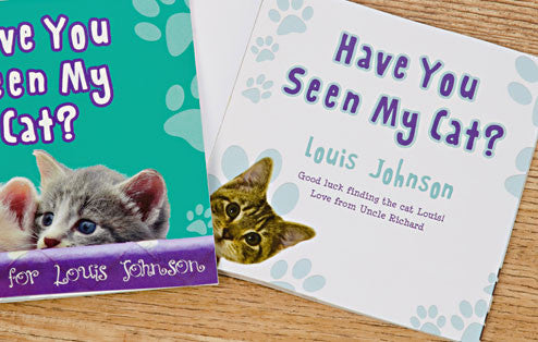 Personalised Have You Seen My Cat Book - Personalised Gift Solutions - 2
