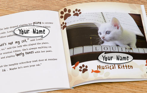 Personalised Have You Seen My Cat Book - Personalised Gift Solutions - 3