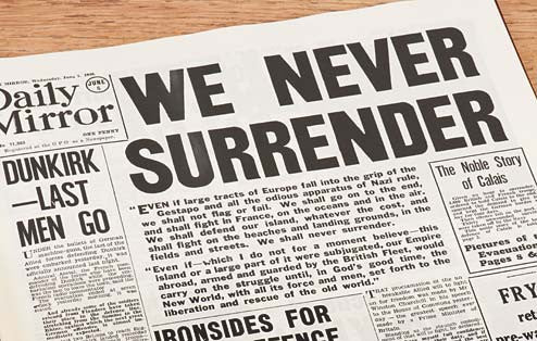 Personalised WW2 Newspaper Book - Personalised Gift Solutions - 3