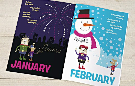 Personalised Months of the year Book - Personalised Gift Solutions - 2