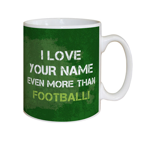 Personalised More Than Football Mug