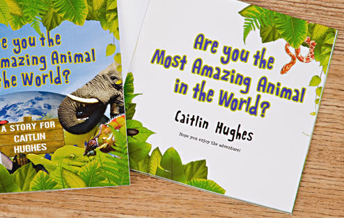 Personalised Most Amazing Animal Book - Personalised Gift Solutions - 2