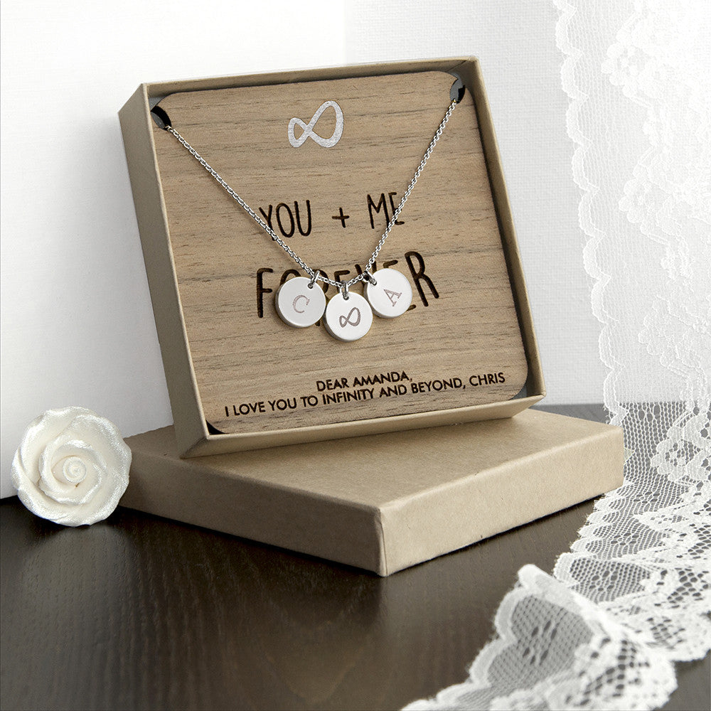 Personalised Infinity Necklace & Keepsake - Personalised Gift Solutions - 1