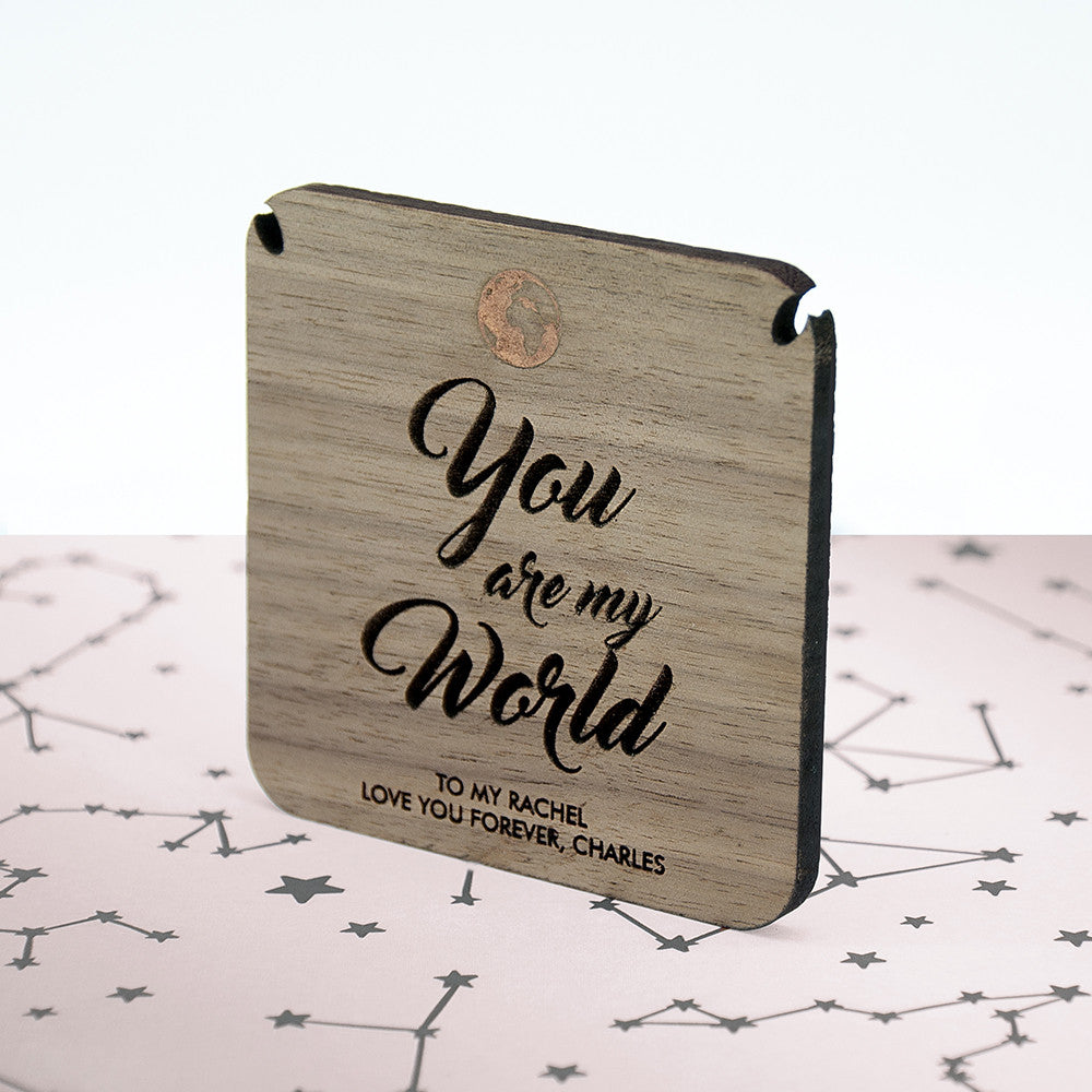 Personalised My World Necklace & Keepsake - Personalised Gift Solutions - 5