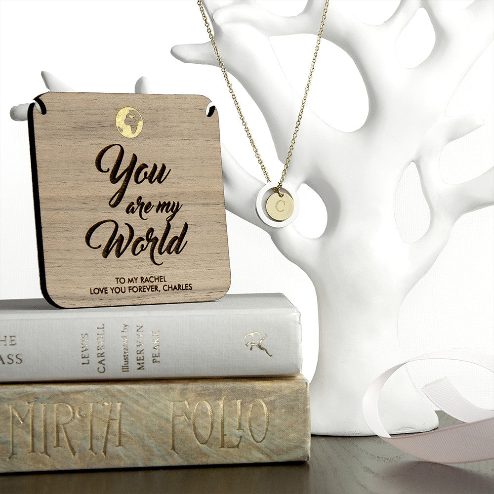 Personalised My World Necklace & Keepsake - Personalised Gift Solutions - 2
