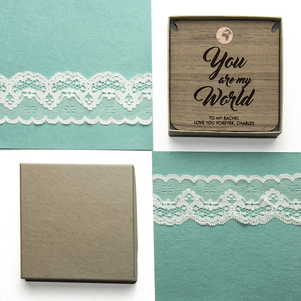 Personalised My World Necklace & Keepsake - Personalised Gift Solutions - 8