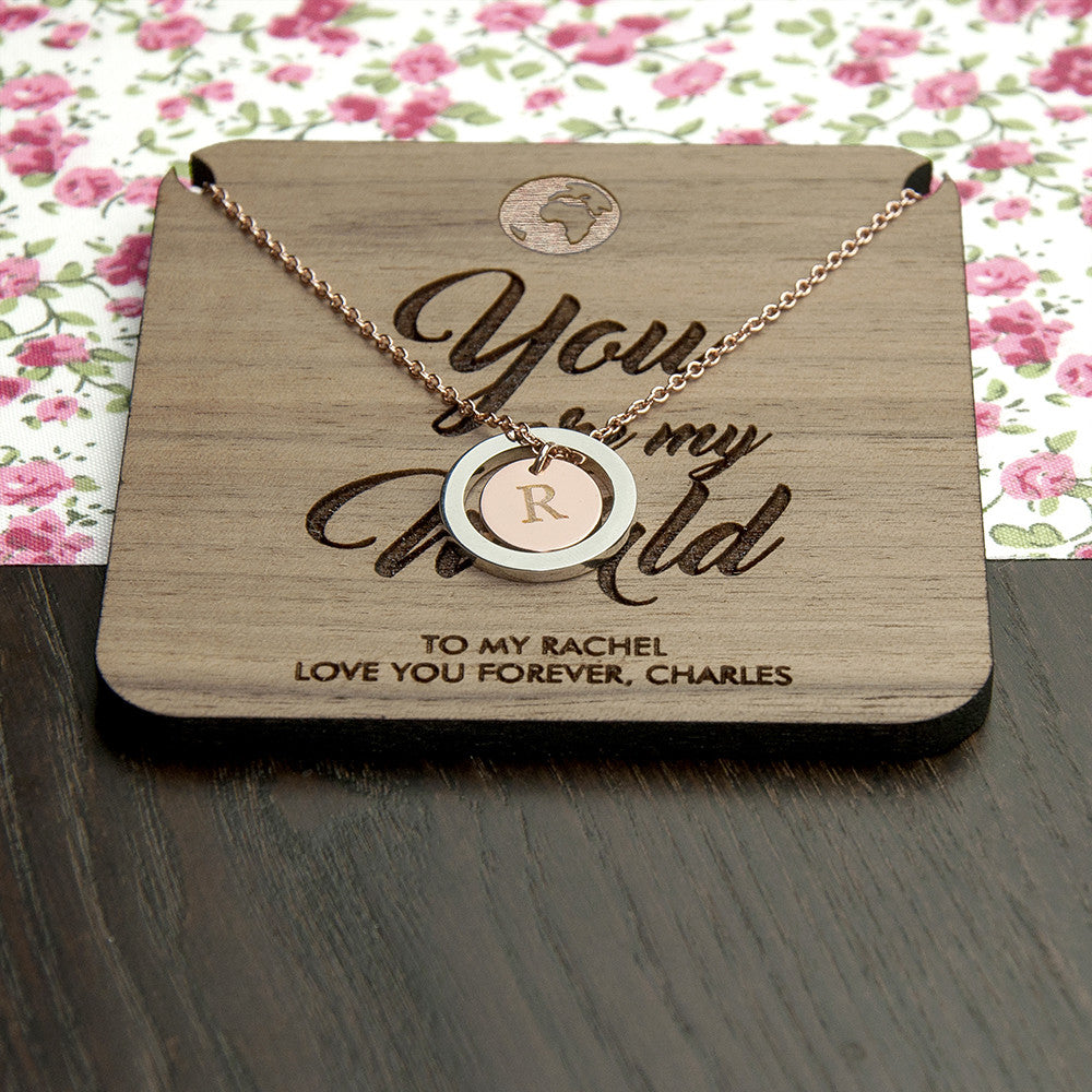 Personalised My World Necklace & Keepsake - Personalised Gift Solutions - 7