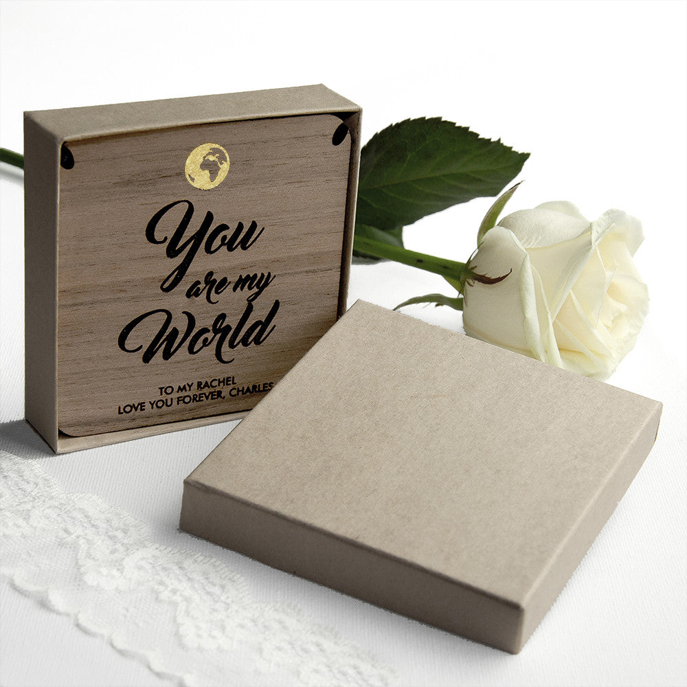 Personalised My World Necklace & Keepsake - Personalised Gift Solutions - 3