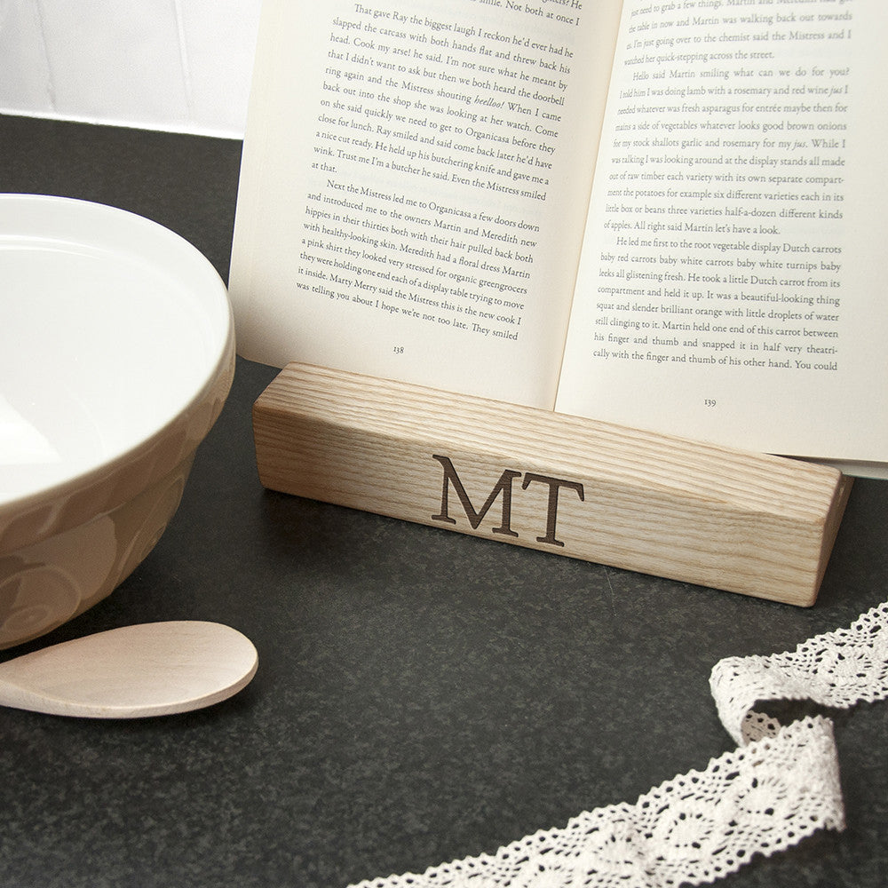 Personalised Kitchen Recipe Book or Tablet Stand - Personalised Gift Solutions - 3