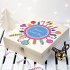 Personalised Christmas Lollipop Wreath Sweet Box - Personalised Gift Solutions - 1