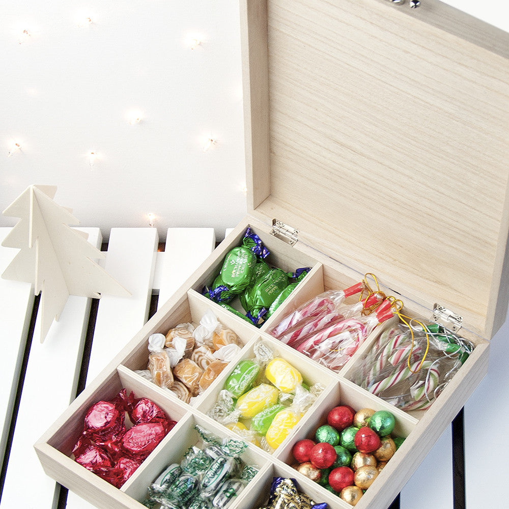 Personalised Woodland Christmas Sweetie Box - Personalised Gift Solutions - 2