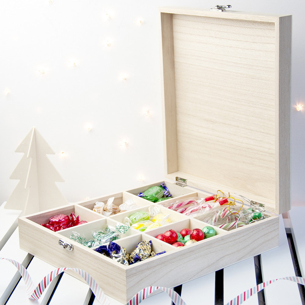 Personalised Woodland Christmas Sweetie Box - Personalised Gift Solutions - 3