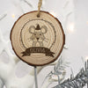 Personalised Christmas Hanging Decoration - Woodland Mouse - Personalised Gift Solutions - 2