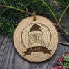 Personalised Christmas Hanging Decoration - Woodland Owl - Personalised Gift Solutions - 2