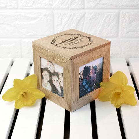 Personalised Memory Box - Small Wooden For Mother's Day