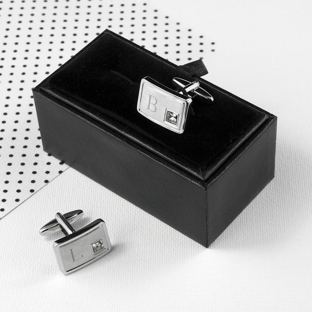 "The Exclusive ""GENTLEMAN"" Watch and Cufflinks Gift Set"