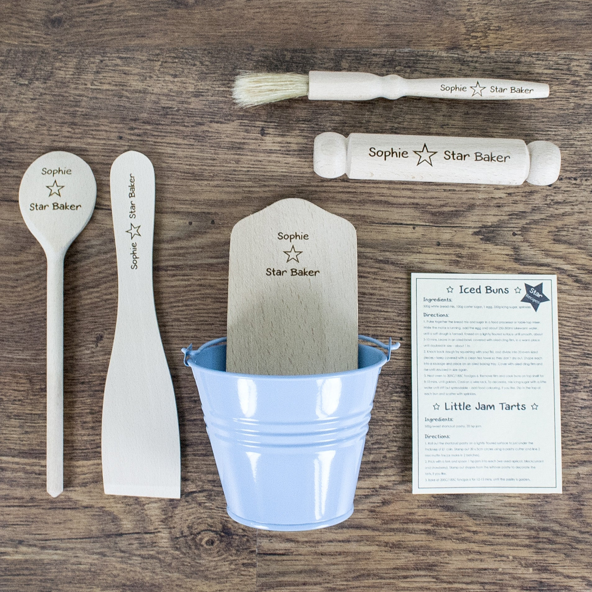 Personalised Star Baker Kids Baking Set - Personalised Gift Solutions - 2
