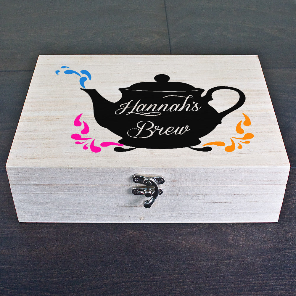 Personalised My Favourite Brew Tea Box - Personalised Gift Solutions - 2