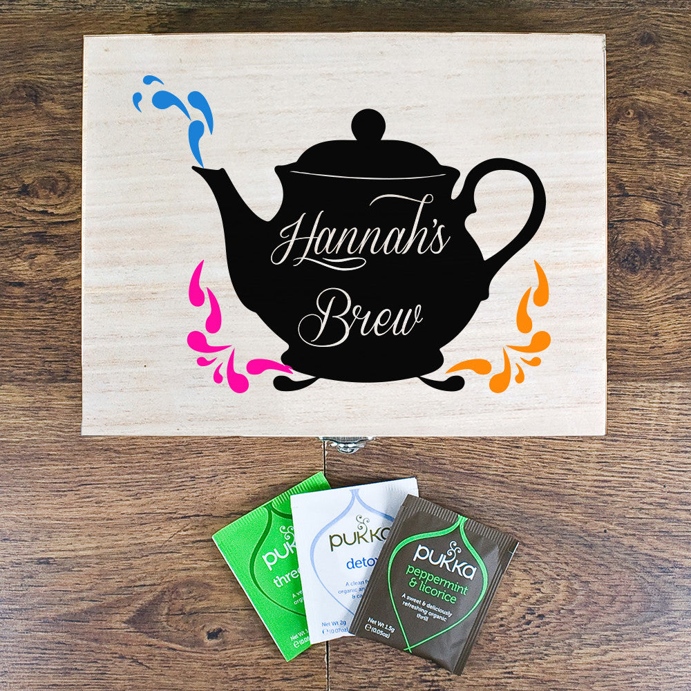 Personalised My Favourite Brew Tea Box - Personalised Gift Solutions - 3