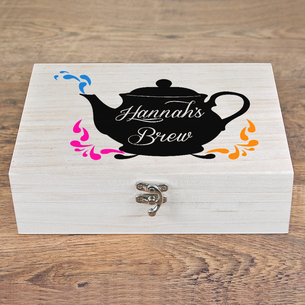 Personalised My Favourite Brew Tea Box - Personalised Gift Solutions - 4