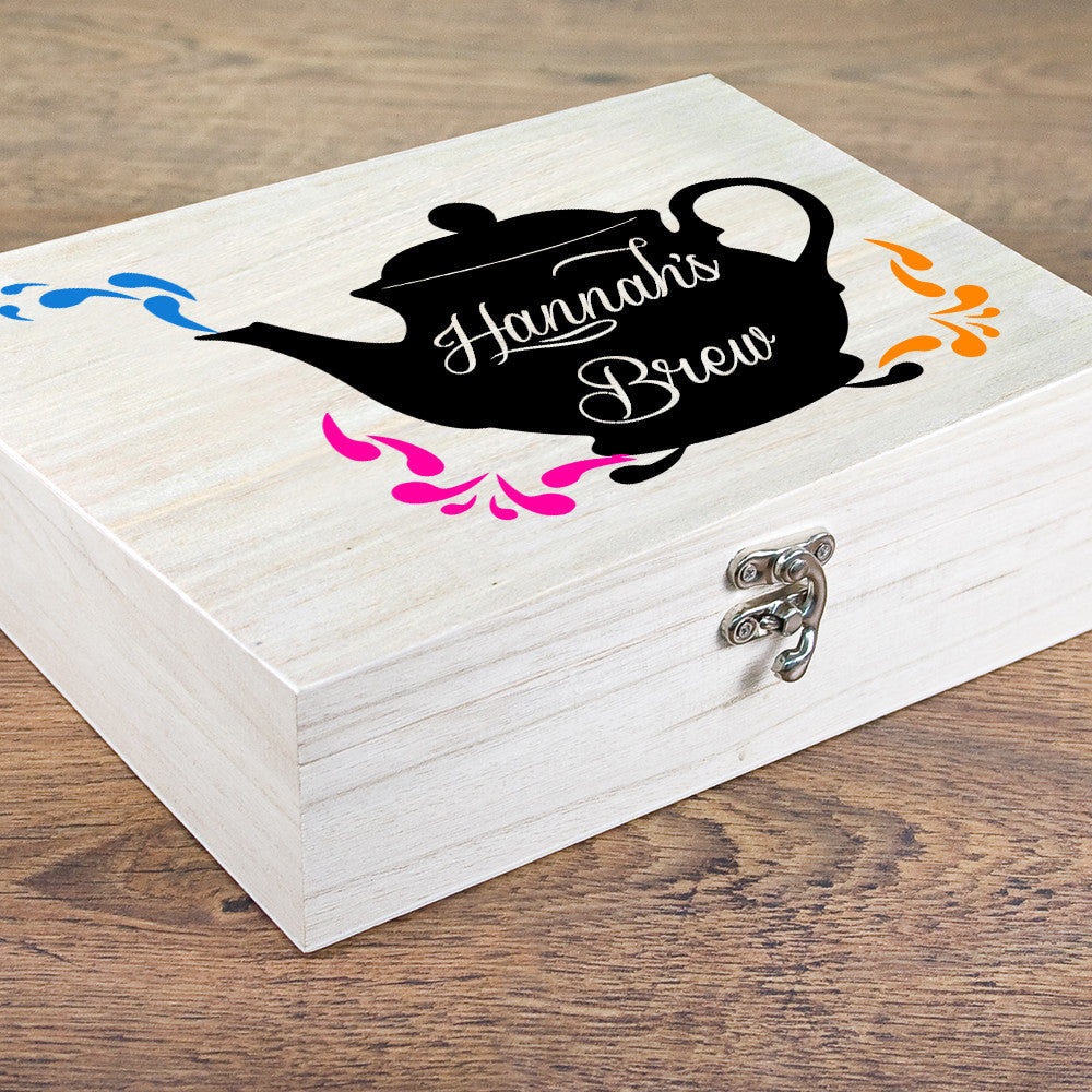 Personalised My Favourite Brew Tea Box - Personalised Gift Solutions - 5