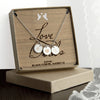Personalised Love Birds Necklace & Keepsake - Personalised Gift Solutions - 1