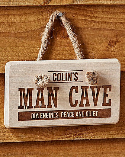 Personalised Man Cave Wooden Sign - Personalised Gift Solutions - 5