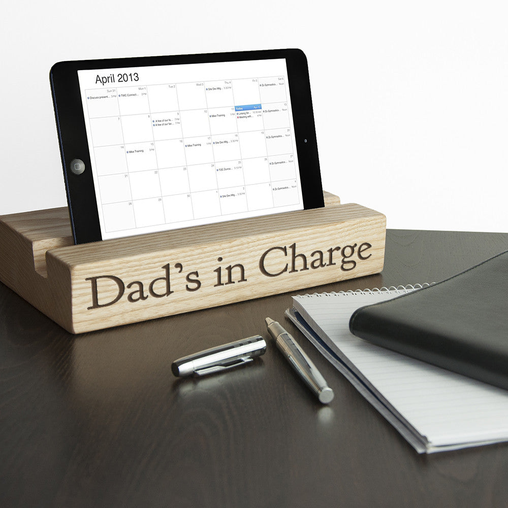 Personalised Office Desk Tablet Stand - Personalised Gift Solutions - 1