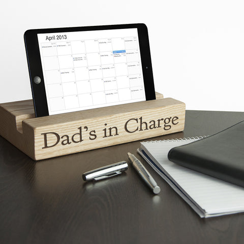 Personalised Office Desk Tablet Stand