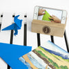 Personalised Wooden Phone Stand & Tidy - Personalised Gift Solutions - 3
