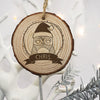 Personalised Christmas Hanging Decoration - Woodland Owl - Personalised Gift Solutions - 1