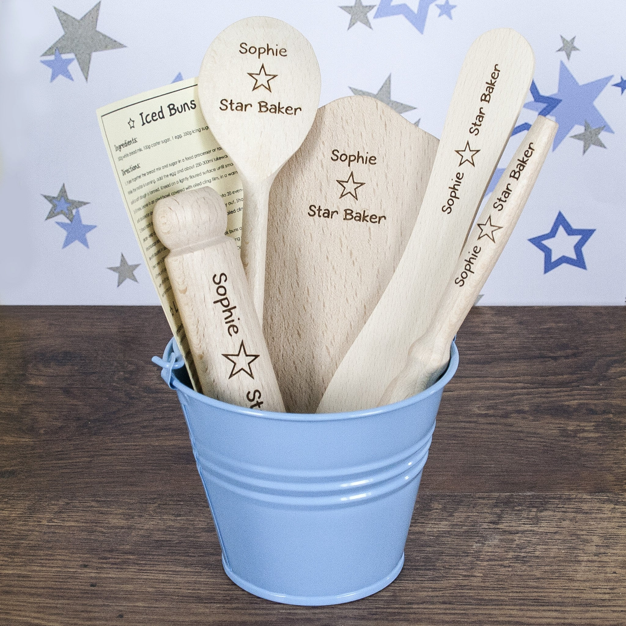 Personalised Star Baker Kids Baking Set - Personalised Gift Solutions - 7