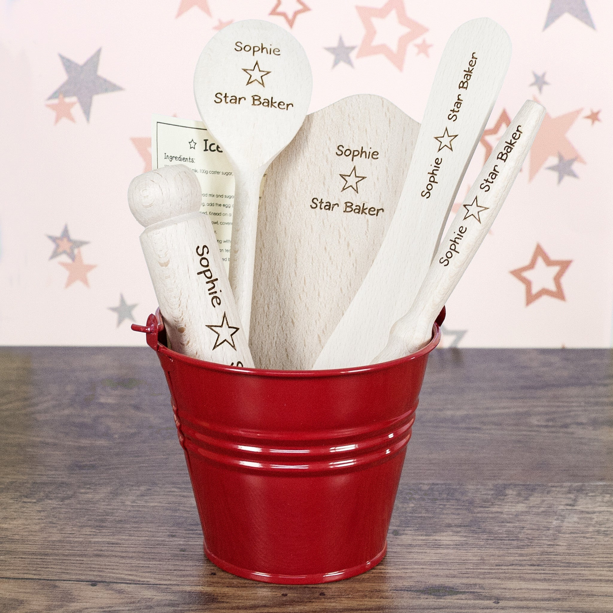 Personalised Star Baker Kids Baking Set - Personalised Gift Solutions - 5