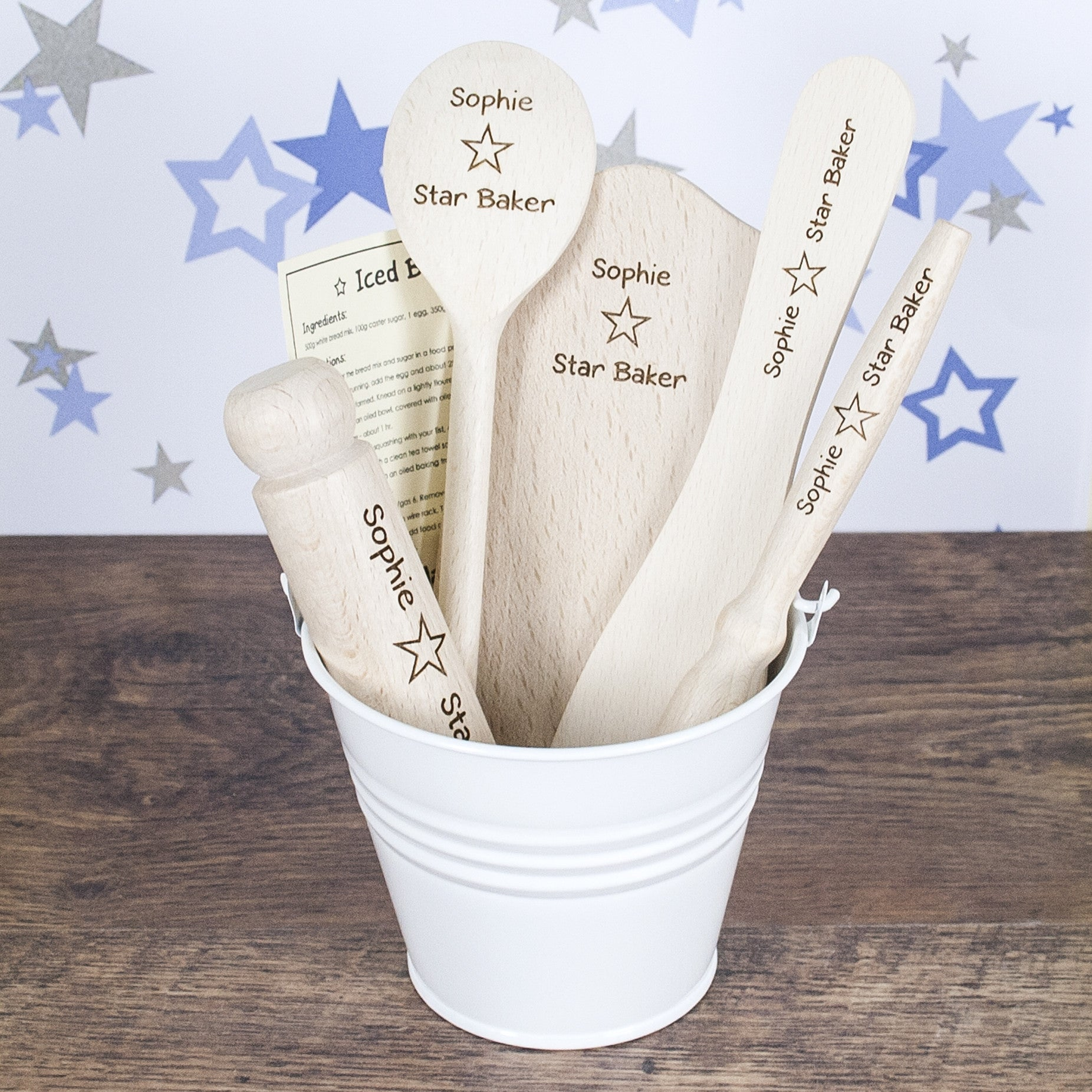Personalised Star Baker Kids Baking Set - Personalised Gift Solutions - 3
