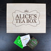 Personalised Tea Box Charcoal - Personalised Gift Solutions - 1