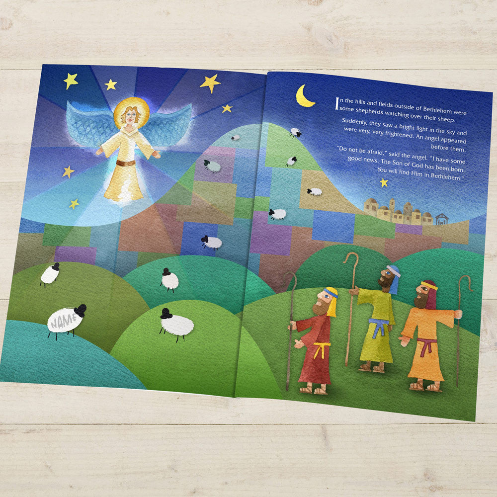 Personalised The Little Donkey and the Nativity Story Book - Personalised Gift Solutions - 4