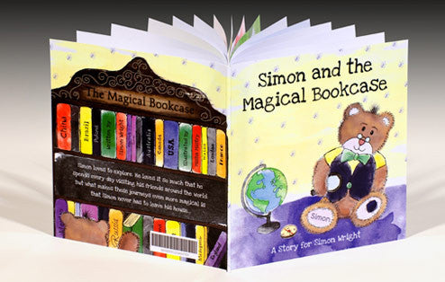 Personalised The Magical Bookcase Book - Personalised Gift Solutions - 1