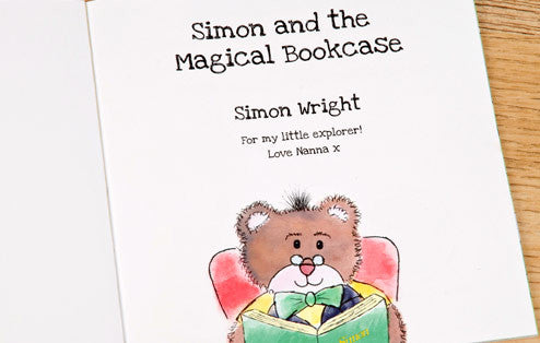 Personalised The Magical Bookcase Book - Personalised Gift Solutions - 2